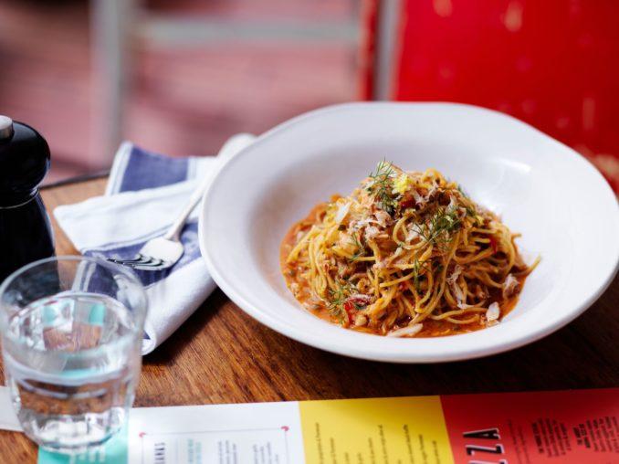 Jamies Italian Fresh Crab Spaghetti