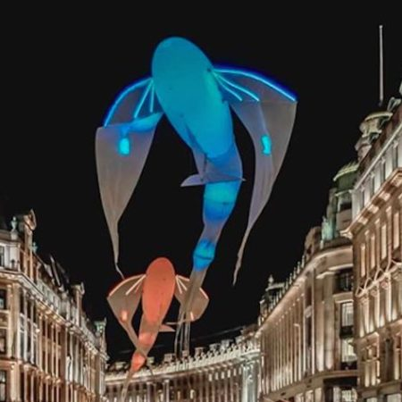 Lumiere London fish
