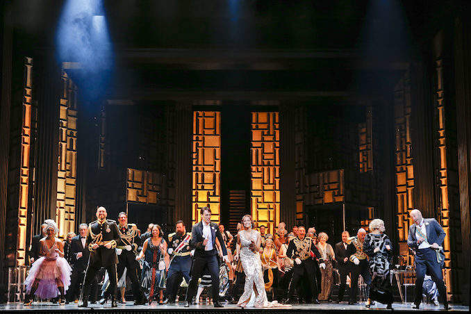 Merry Widow Opera finale