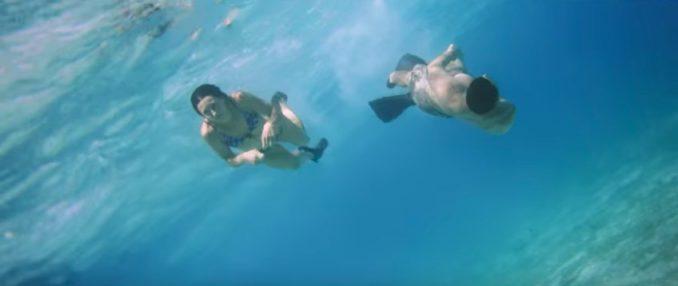 Okinawa Japan Nuchugusui free diving
