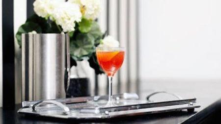 Sodastream Singapore Sling cocktail