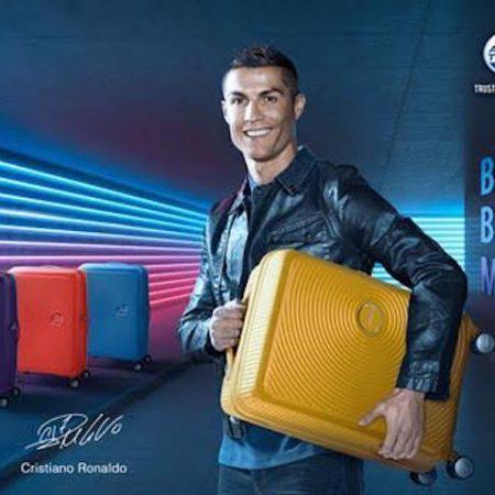 Cristiano Ronaldo American Tourister Curio