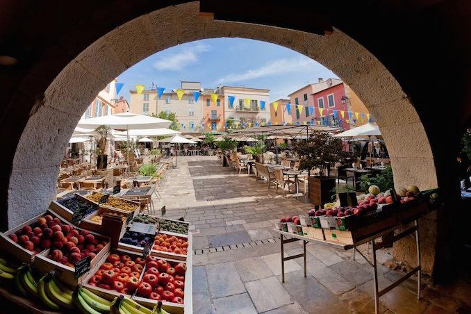 French Riviera markets