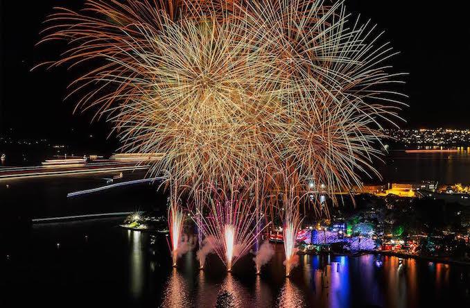 Handa Opera Sydney Harbour HOSH fireworks