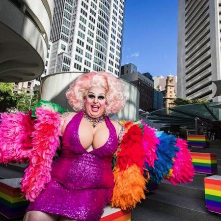 Maxi Shield drag queen Mardi Gras 1