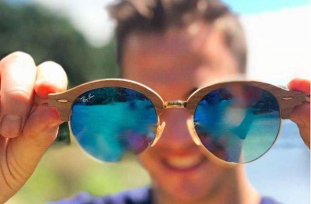 Ray-Ban round clubmasters eyewear sunglasses