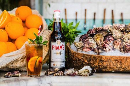 Coogee Pavillion Pims oyster bar bottle