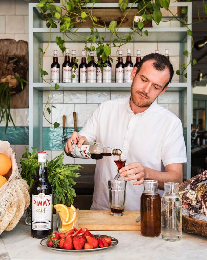 Coogee Pavillion Pims oyster bartender