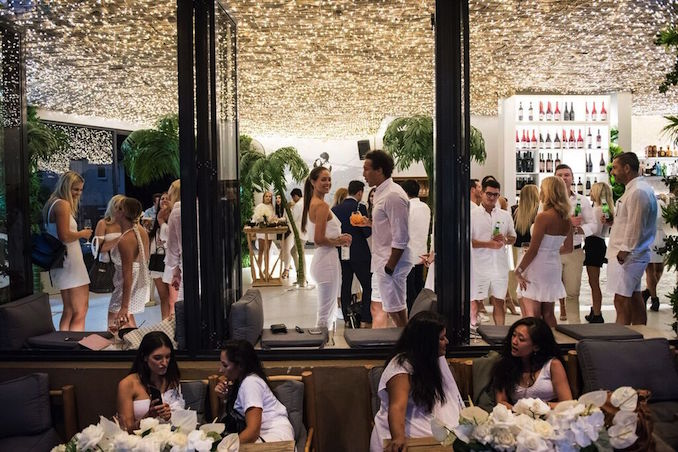 Upper East Side Bondi white party 1