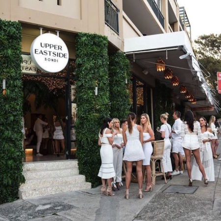 Upper East Side Bondi white party front