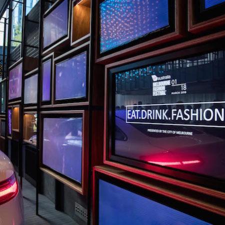 VAMFF Mercedes Eat Drink Fashion screen