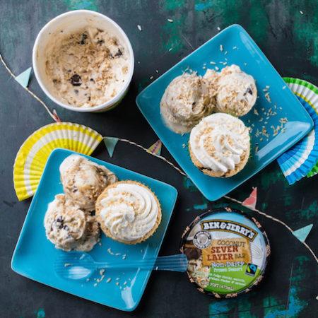Ben Jerrys cupcake ice cream