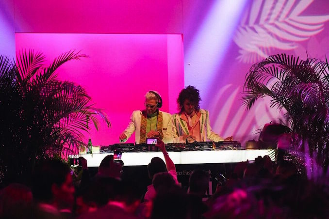 MBFWA Mercedes Benz fashion week edition party DJ