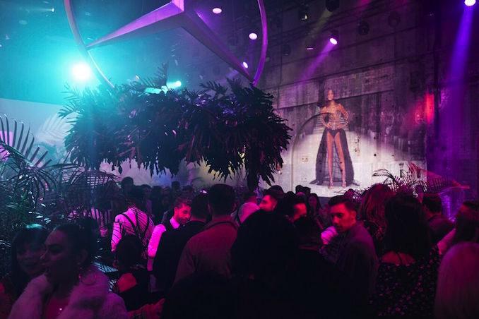 MBFWA Mercedes Benz fashion week edition party crowd