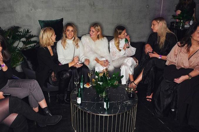 MBFWA Mercedes Benz fashion week edition party girls