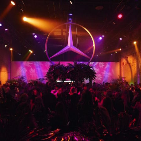 MBFWA Mercedes Benz fashion week edition party logo 2