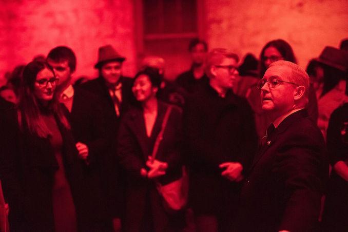 Underground Cinema Delirium crowd