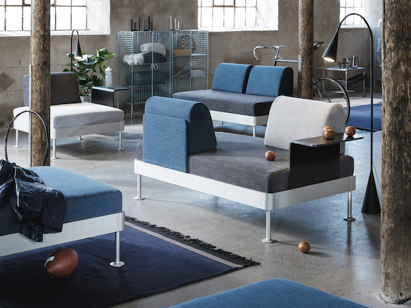 Ikea Tom Dixon UTS Delaktig couch 1