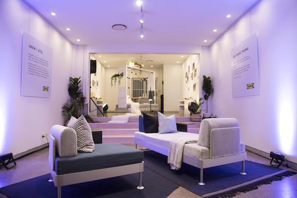 Ikea Tom Dixon UTS Delaktig couches