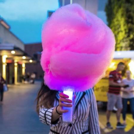 Milk Sugar glow stick fairy floss