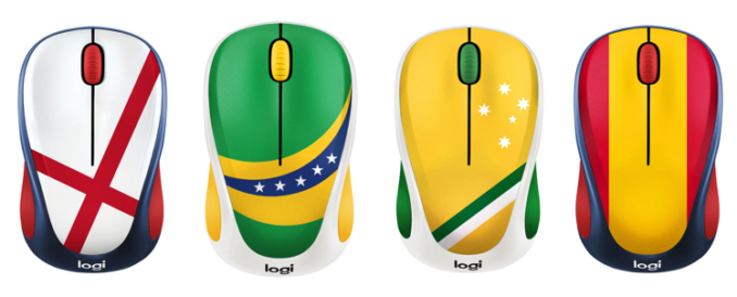 Logitech fan collection wireless mouse