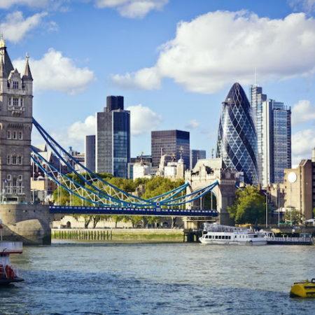 London Shard Bridge