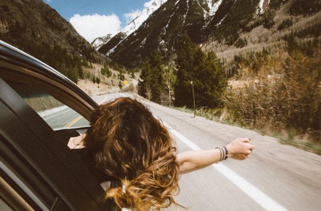 Road trip car