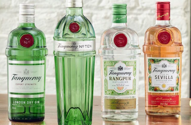 Tanqueray gins