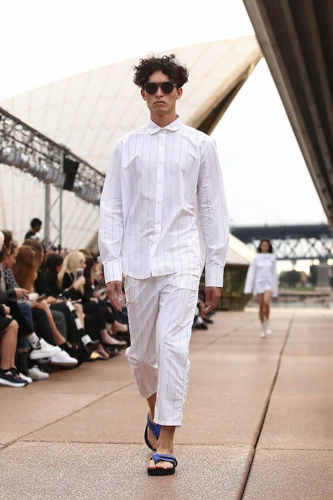 Male model menswear eyewear