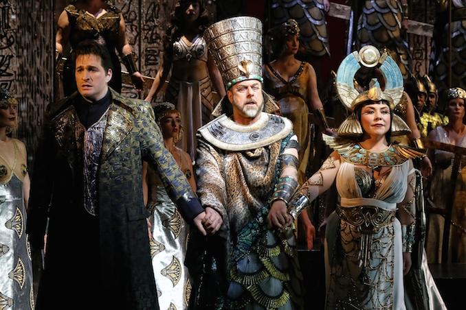 Opera Australia Aida singers