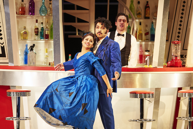 Stacey Alleaume and Paolo Bordogna in The Turk in Italy