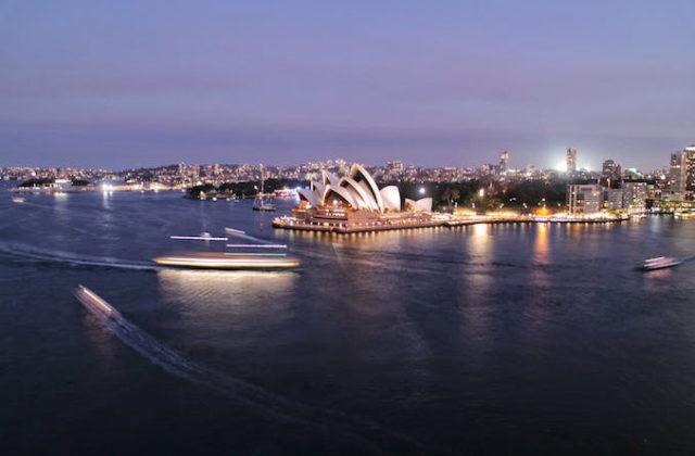 Sydney Harbour cruise yacht