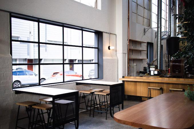 Veneziano Coffee Roasters Richmond seating