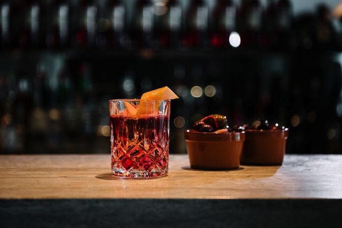 Campari Red cocktail ivy 3