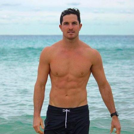 Drew Harrisberg Fitbit beach