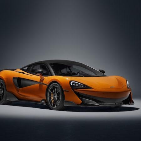 McLaren 600LT Chicane orange