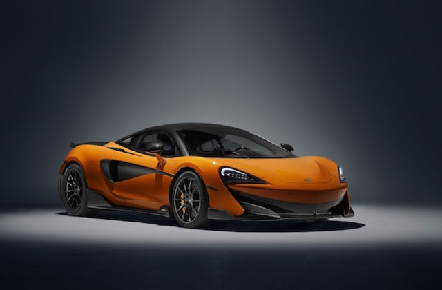 McLaren 600LT Chicane orange
