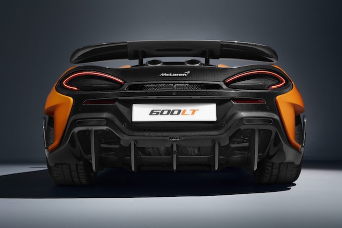 McLaren 600LT Chicane rear