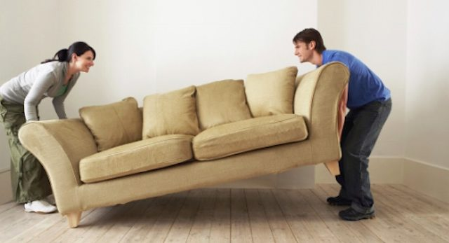 Moving lift couch