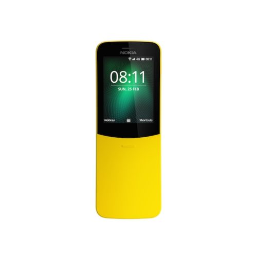 Nokia 8110 Banana Yellow front