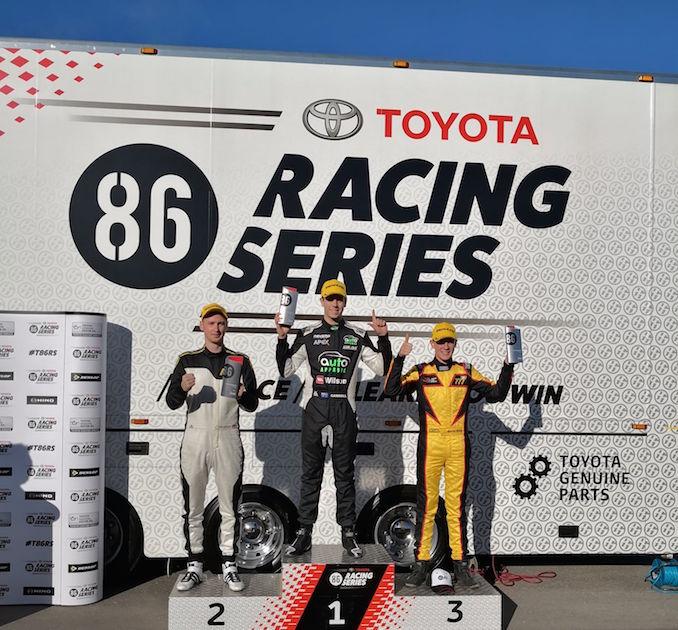 Toyota 86 Racing Series Tailem winners 2