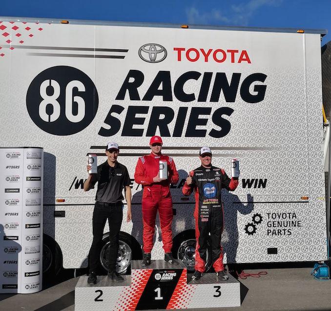 Toyota 86 Racing Series Tailem winners