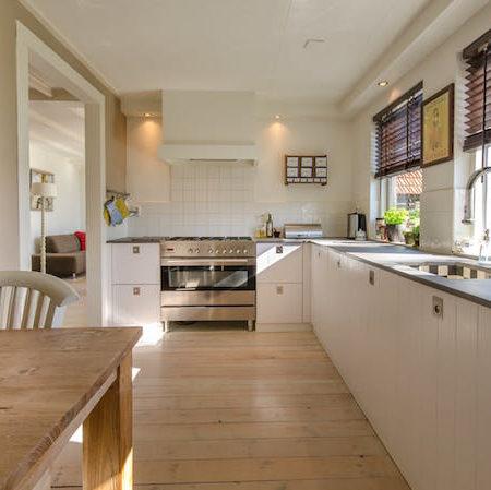 House kitchen stove