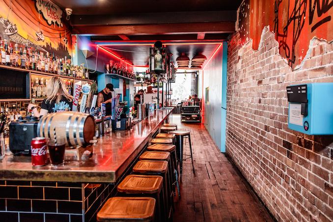 Milky Lane Bondi bar