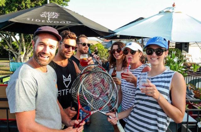 Social Servce tennis 1
