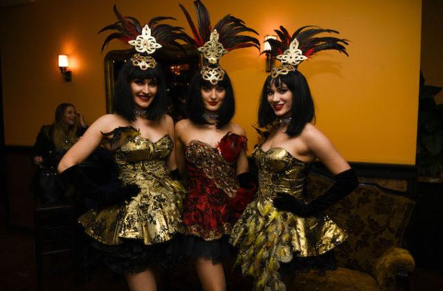 Whirly Bird cabaret girls