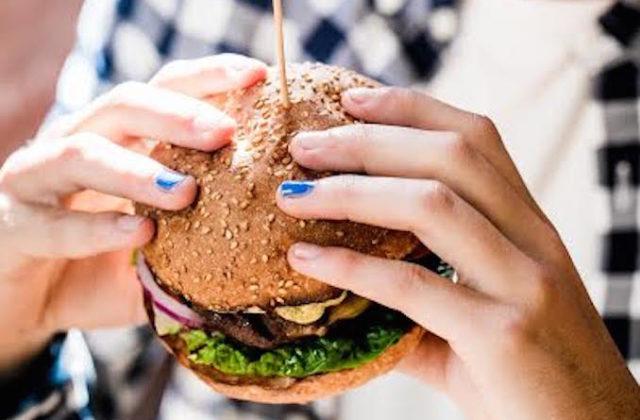 Grilld cheeseburger
