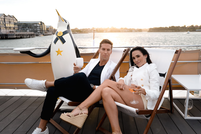 Moet Chandon Hamptons Imperial Ice couple