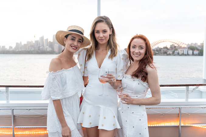 Moet Chandon Hamptons Imperial Ice girls