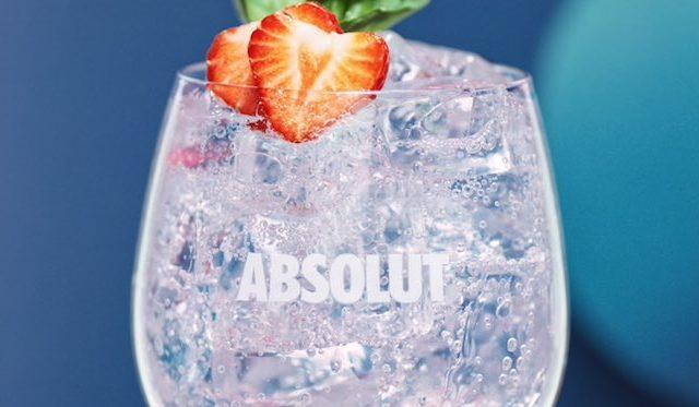 Strawberry Basil Absolut Love
